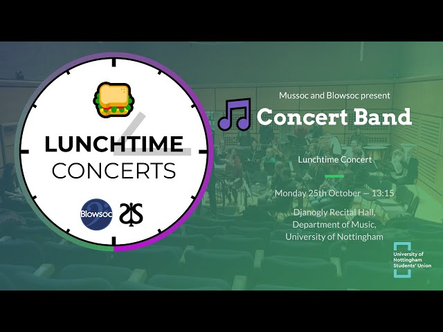 🎵 Concert Band LTC (Autumn 2019)