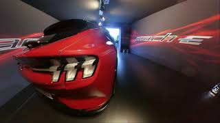 Ford Mustang Mach E. Test drive Roma