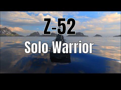 Z-52 T10 German Destroyer | Solo Warrior Kraken Liquidator 277k Damage | World of Warships
