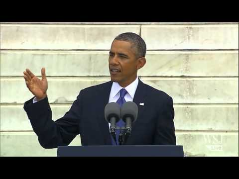 Obama's Full MLK Anniversary Speech