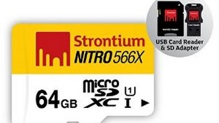 Strontium 64GB Nitro 566X micro SD
