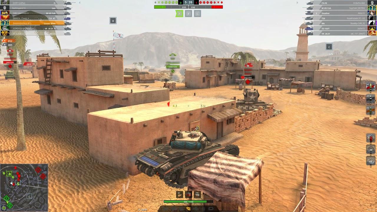Download World of Tanks Blitz Thailand : Mastery Eraser BP44 3431Dmg 3Kills