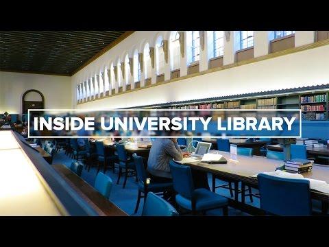 Inside University Library