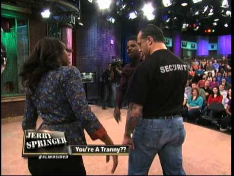 Tranny On Jerry Springer 24