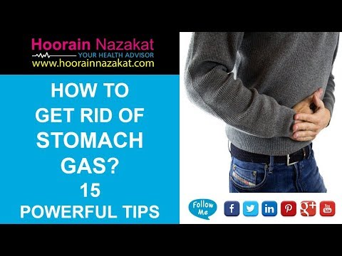 How to Get Rid of Stomach Gas? 15 Powerful Tips in 2018