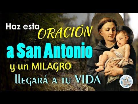 Haz Esta Oración A San Antonio Y Un Milagro Llegará A Tu Vida Youtube