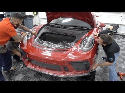 Clear Bra Fail - Porsche GT3 - Full Suntek Ultra PPF & CQuartz Finest Reserve