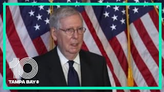 """Sen. Mitch McConnell on stimulus proposal: """"I think this is a starting place"""""""