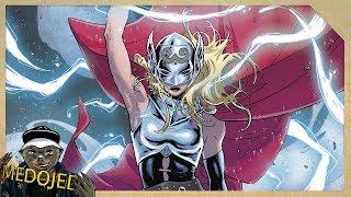 Slečna Thor vysvětlena!!   Celý příběh komiksové Jane Foster