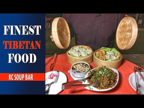 Finest TIBETAN Food At KC Soup Bar 🍜☕