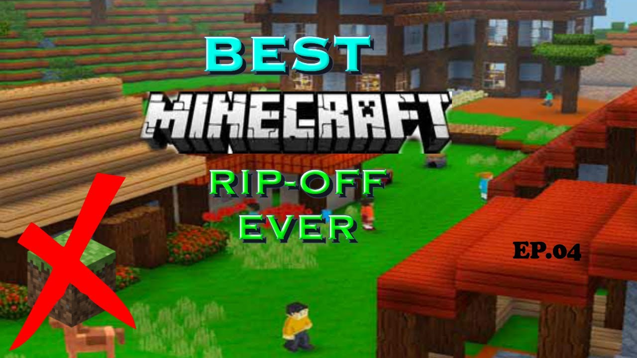 TRYING OUT MINECRAFT RIP-OFFS  BEST RIP-OFF – MINECRAFT  EP.O11