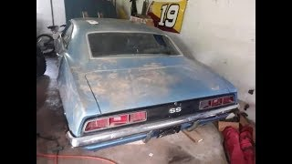 WILL IT RUN??? Time Capsule 1969 Camaro SS396 Discovered Hidden Since 1981!!!