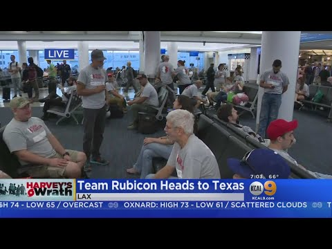 Team Rubicon Sends Hundreds Of Volunteers To Texas