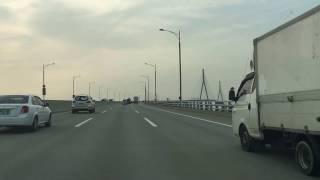 인천대교고속도로 주행