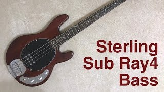 Sterling by Music Man Sub Ray4 Bass - Demo and Review