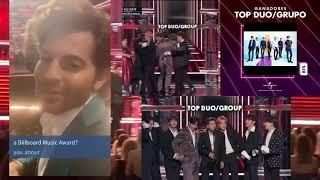 BTS Billboard 2019/jungkook y Ariana Grande /BTS en The voice Usa/ BTS en GMA