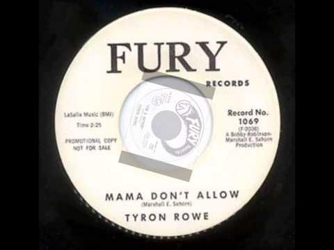 TYRON ROWE AND GROUP - I'M A GO'FER - FURY 1069 - 1962