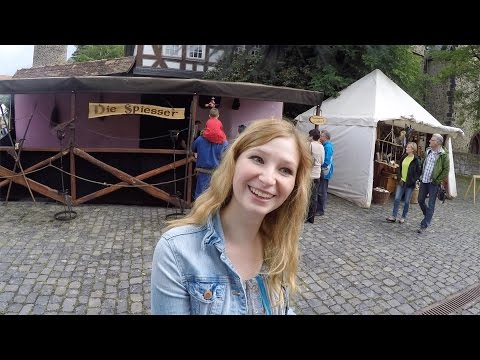 Butzbach Old Town Germany Travel Video