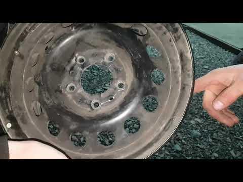 6 ОЙ КОМПЛЕКТ КОЛЕС на ZaLuPAZL, нашел 4-ый диск R-14