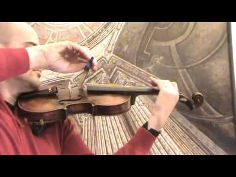 ♪♫► Antique German master violin バイオリン скрипка 小提琴 557