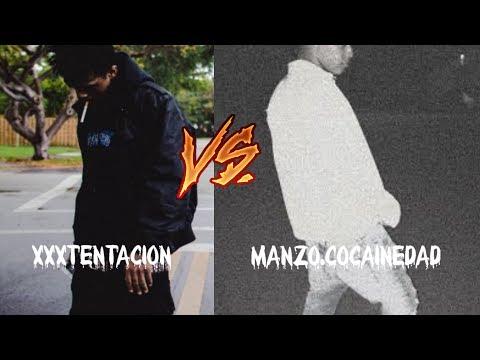 XXXTENTACION VS MANZO.COCAINEDAD (Music)