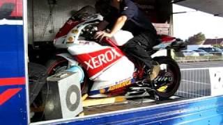 Ducati 999s reverse Xerox with full Zard system on the dyno at the ...