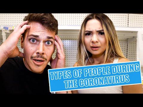 14 TYPES OF PEOPLE DURING THE CORONAVIRUS!!