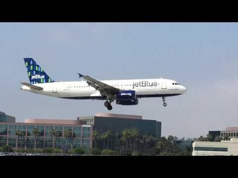 Awesome landing Jet Blue