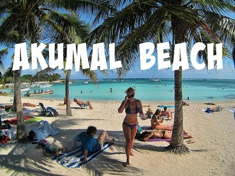 Akumal Beach | Bus To BEAUTIFUL Akumal For The Day!