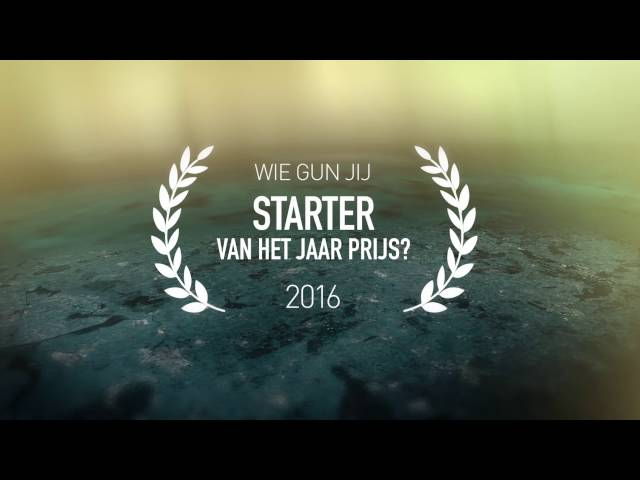 Ondernemer en Starter van het jaar Regio Zwolle 2016