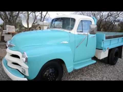 1955 Chevrolet 3800 Restored Dump truck, Arizona cancer free