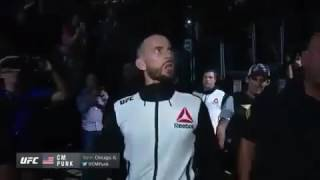 CM Punk First UFC Entrance
