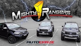 MIGHTY RANGERS // Ford Ranger Raptor Wheels, Tyres, Rival 4x4 Bar, Roll R Cover, Lift Kit & More