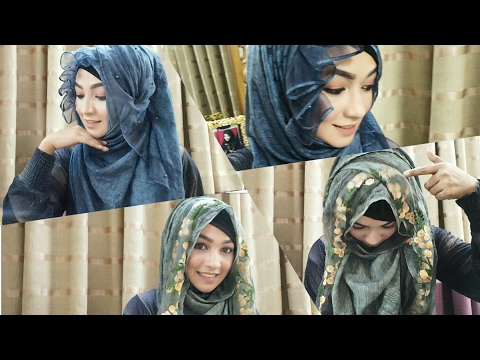 Eid special modest Hijab Style with covered chest | Pari ZaaD ❤