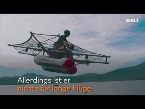 Kitty Hawk : US-Startup präsentiert Prototypen einer persönlichen Flugmaschine