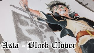 Speed Drawing - Asta (Black Clover)