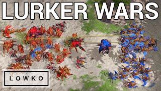 StarCraft 2: EPIC LURKER WARS! (Serral vs Reynor)