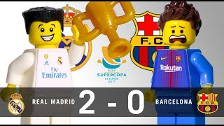 LEGO Final Supercopa 2017 REAL MADRID - BARCELONA vuelta