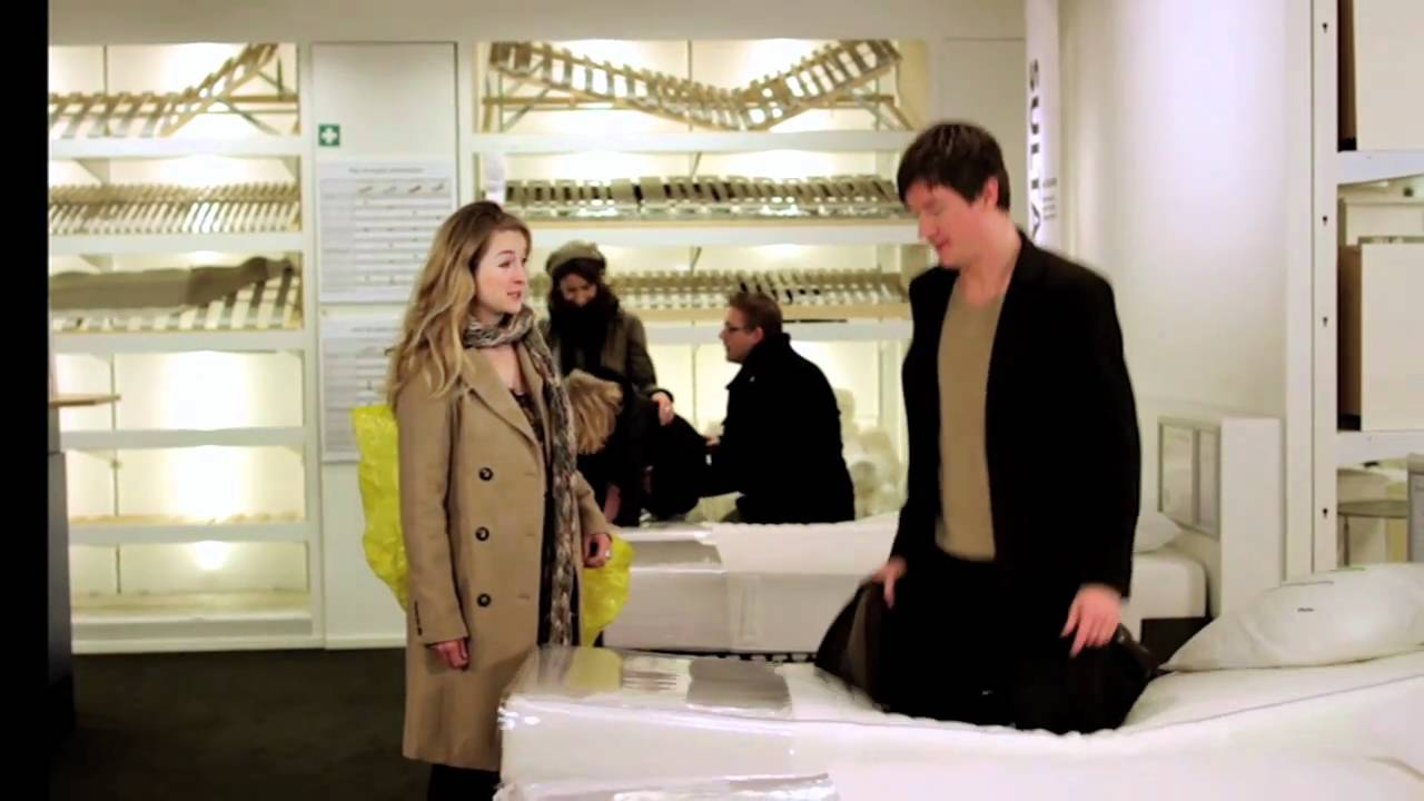 ikea commercial 24 februari 2011 | test matras - youtube, Deco ideeën