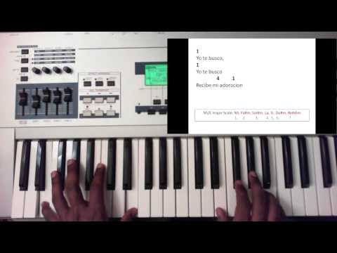 Yo Te Busco - Cristo Para Las Naciones (Piano Tutorial)