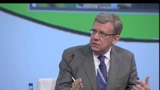 Кудрин - Глазьев, Петербургский международный экономический форум ПМЭФ 2014