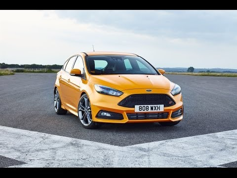 2015 Ford Focus ST Video and Motor Sound.