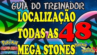 Pokémon - Localização de Todas as Mega Stones [OR/AS & X/Y]