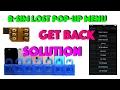 Any R-SIM Activation loop & lost pop-up menu solution