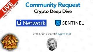 Community Pick w/ CryptoCred: $SENT $UUU $ - Crypto Live Ep. 20