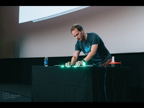 Docker and IoT: securing the server-room with realtime ARM microservices