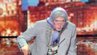 Mémé Gangsta an amazing grand mother ! France's Got Talent 20th october 2015 M6