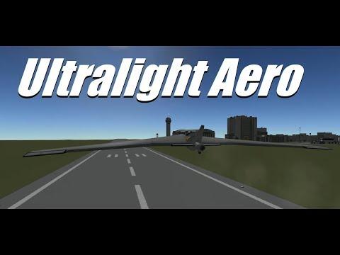 Kerbal Space Program - Ultra high efficiency single engine aircraft