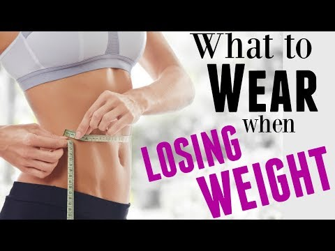 WHAT TO WEAR WHEN LOSING WEIGHT: In between sizes