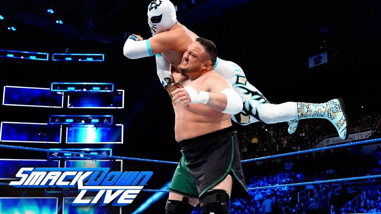 Samoa Joe on Smackdown